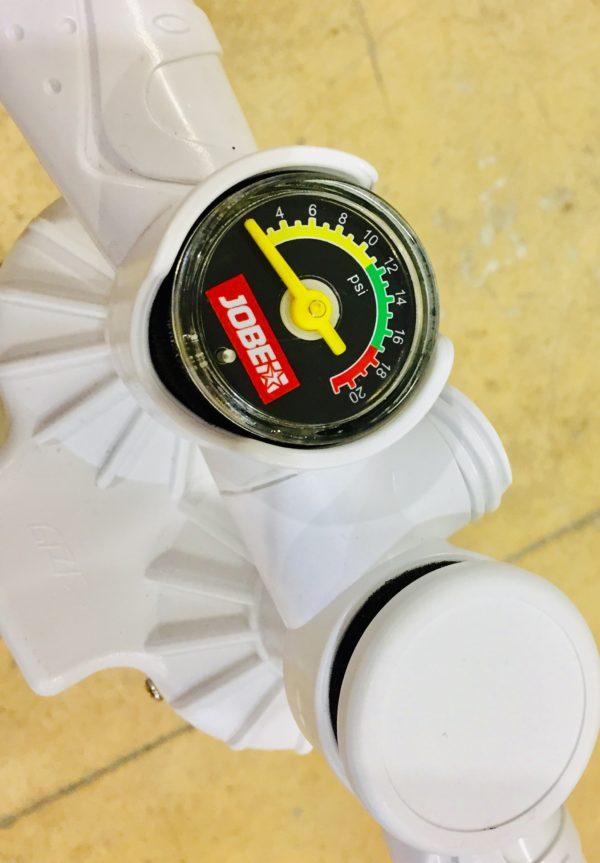 Druckanzeige SUP Pumpe