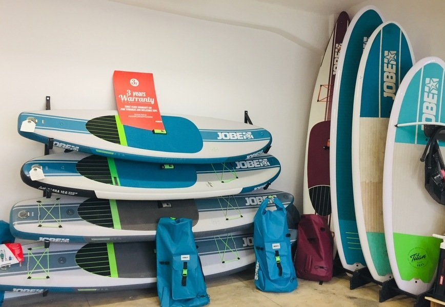 SUP Shop Berlin Stehpaddler Inflatable SUP Board