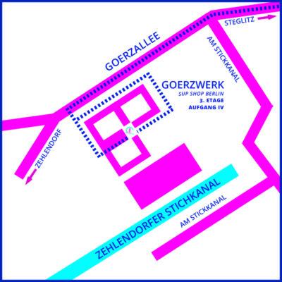 SUP-Shop-Berlin-Anfahrt