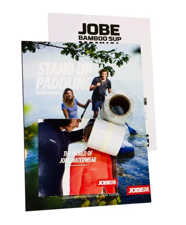 13-Jobe Bamboo SUP Board Railsaver