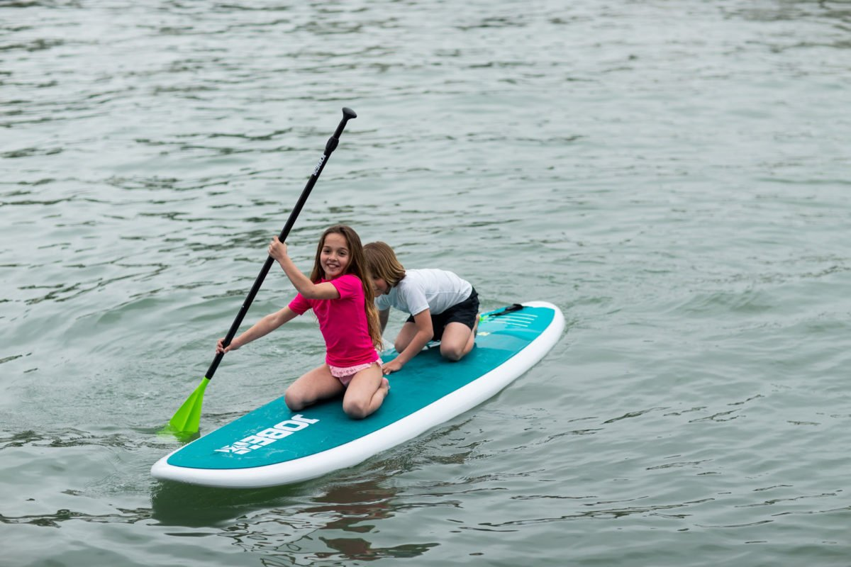 Sup Kinder Stand up Paddling ist